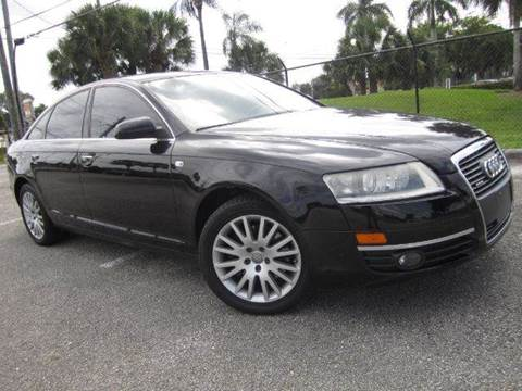 2006 Audi A6 for sale at Rosa's Auto Sales in Miami FL