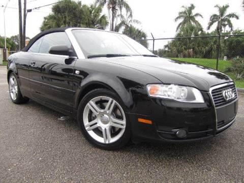 2007 Audi A4 for sale at Rosa's Auto Sales in Miami FL