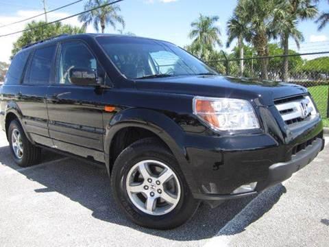 2007 Honda Pilot for sale at Rosa's Auto Sales in Miami FL