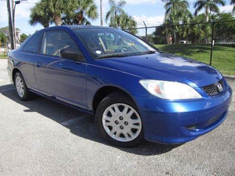 2004 Honda Civic for sale at Rosa's Auto Sales in Miami FL