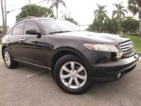 2005 Infiniti FX35 for sale at Rosa's Auto Sales in Miami FL