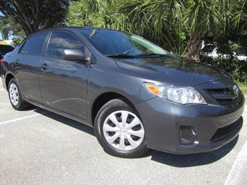 2011 Toyota Corolla for sale at Rosa's Auto Sales in Miami FL