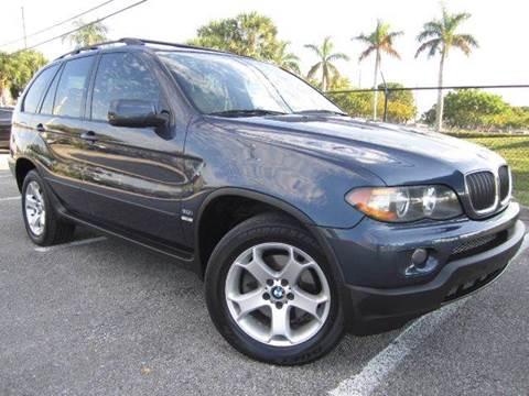 2006 BMW X5 for sale at Rosa's Auto Sales in Miami FL