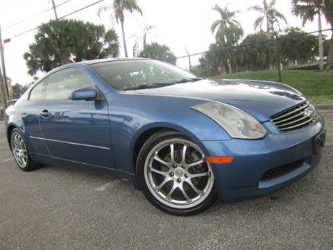 2005 Infiniti G35 for sale at Rosa's Auto Sales in Miami FL