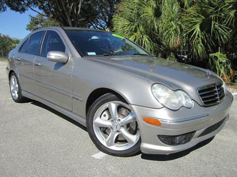 2006 Mercedes-Benz C-Class for sale at Rosa's Auto Sales in Miami FL