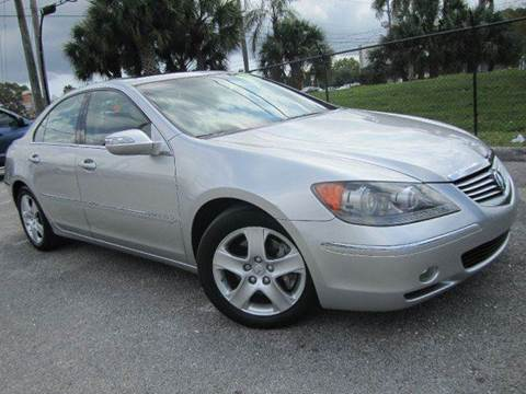 2006 Acura RL for sale at Rosa's Auto Sales in Miami FL
