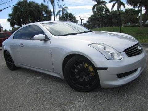 2006 Infiniti G35 for sale at Rosa's Auto Sales in Miami FL