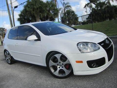 2009 Volkswagen GTI for sale at Rosa's Auto Sales in Miami FL