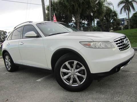 2007 Infiniti FX35 for sale at Rosa's Auto Sales in Miami FL