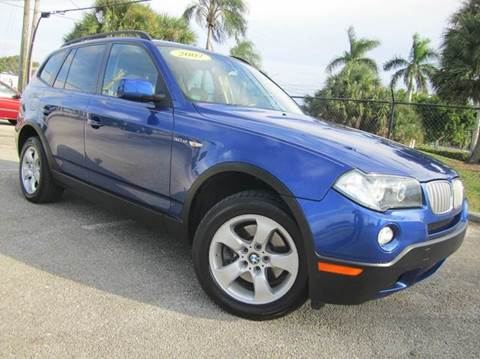 2007 BMW X3 for sale at Rosa's Auto Sales in Miami FL