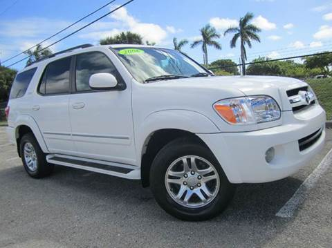 2006 Toyota Sequoia for sale at Rosa's Auto Sales in Miami FL