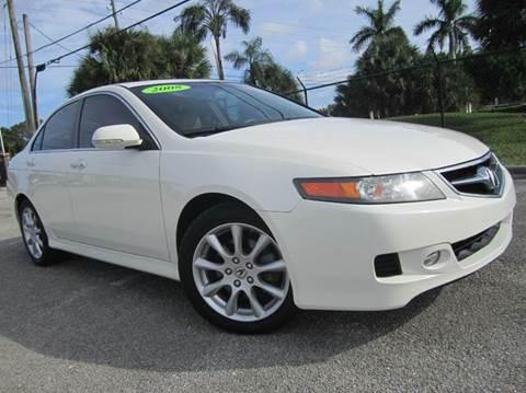 2008 Acura TSX for sale at Rosa's Auto Sales in Miami FL
