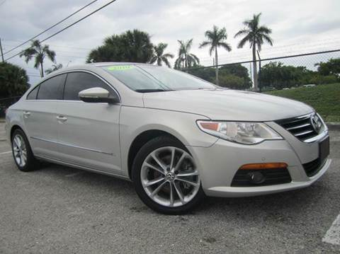 2010 Volkswagen CC for sale at Rosa's Auto Sales in Miami FL