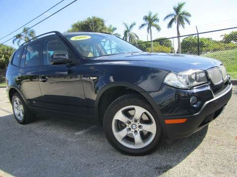 2008 BMW X3 for sale at Rosa's Auto Sales in Miami FL