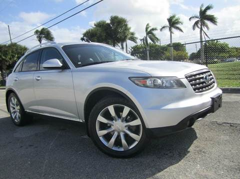 2007 Infiniti FX35 for sale at Rosa's Auto Sales in Miami FL