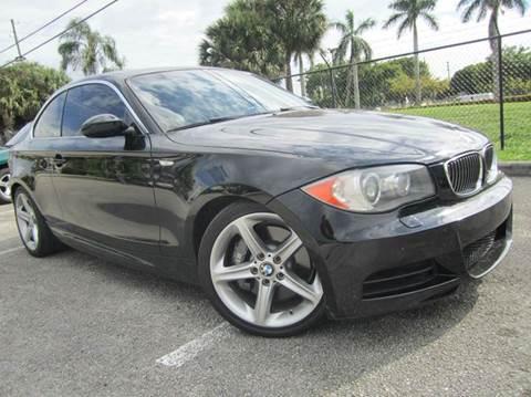 2008 BMW 1 Series for sale at Rosa's Auto Sales in Miami FL