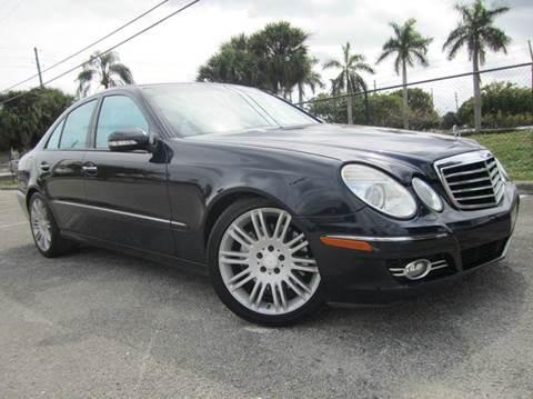2008 Mercedes-Benz E-Class for sale at Rosa's Auto Sales in Miami FL