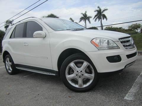 2008 Mercedes-Benz M-Class for sale at Rosa's Auto Sales in Miami FL