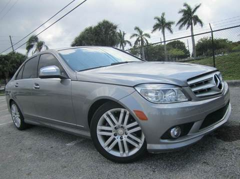 2009 Mercedes-Benz C-Class for sale at Rosa's Auto Sales in Miami FL