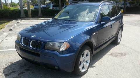 2006 BMW X3 for sale at Rosa's Auto Sales in Miami FL