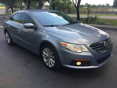 2009 Volkswagen CC for sale at Rosa's Auto Sales in Miami FL
