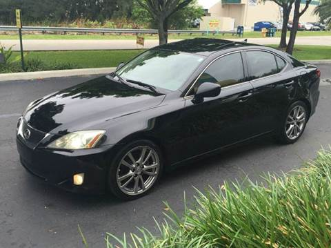 2008 Lexus IS 250 for sale at Rosa's Auto Sales in Miami FL