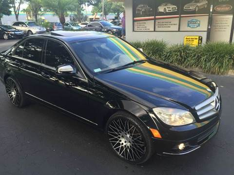 2008 Mercedes-Benz C-Class for sale at Rosa's Auto Sales in Miami FL