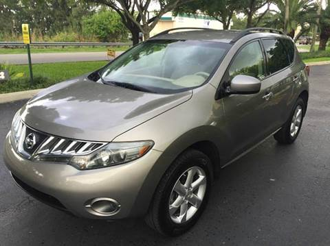 2009 Nissan Murano for sale at Rosa's Auto Sales in Miami FL