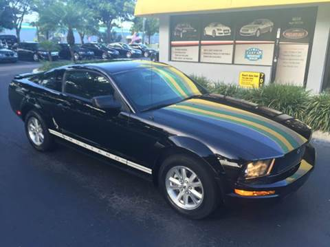 2007 Ford Mustang for sale at Rosa's Auto Sales in Miami FL