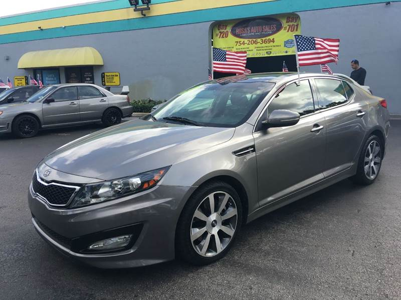 2012 Kia Optima SX Turbo 4dr Sedan 6A   Davie FL