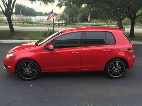 2010 Volkswagen Golf for sale at Rosa's Auto Sales in Miami FL