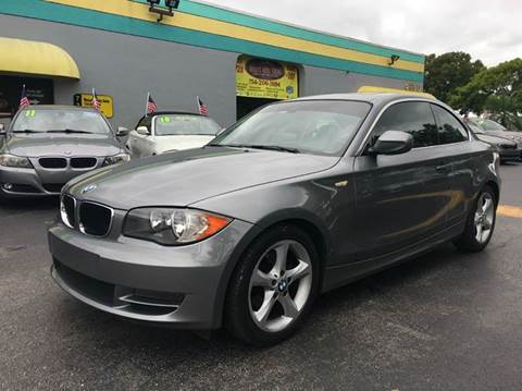 2010 BMW 1 Series for sale at Rosa's Auto Sales in Miami FL