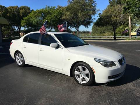 2008 BMW 5 Series for sale at Rosa's Auto Sales in Miami FL