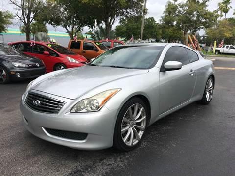 2008 Infiniti G37 for sale at Rosa's Auto Sales in Miami FL