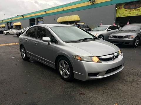 2009 Honda Civic for sale at Rosa's Auto Sales in Miami FL