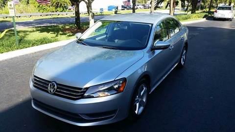 2012 Volkswagen Passat for sale at Rosa's Auto Sales in Miami FL