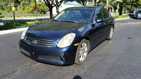 2006 Infiniti G35 for sale at Rosa's Auto Sales in Miami FL