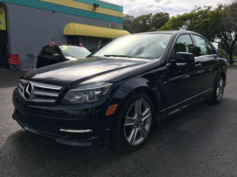 2011 Mercedes-Benz C-Class for sale at Rosa's Auto Sales in Miami FL