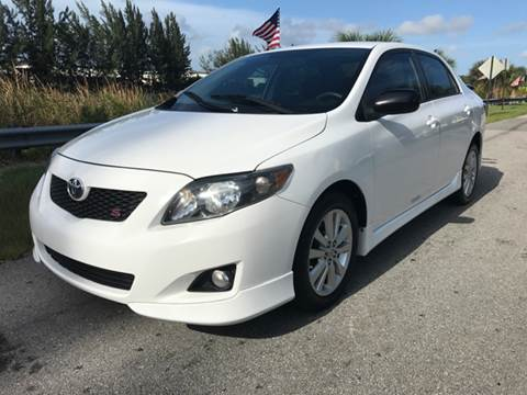 2009 Toyota Corolla for sale at Rosa's Auto Sales in Miami FL