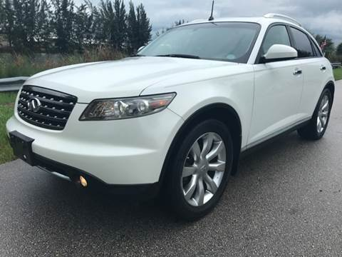 2008 Infiniti FX35 for sale at Rosa's Auto Sales in Miami FL