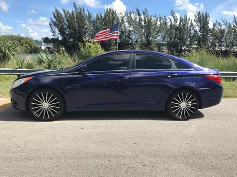 2011 Hyundai Sonata for sale at Rosa's Auto Sales in Miami FL