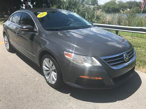 2012 Volkswagen CC for sale at Rosa's Auto Sales in Miami FL