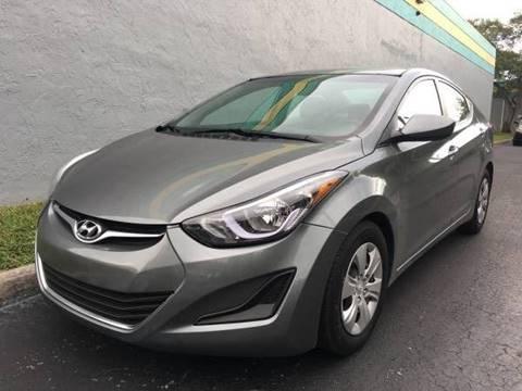 2016 Hyundai Elantra for sale at Rosa's Auto Sales in Miami FL