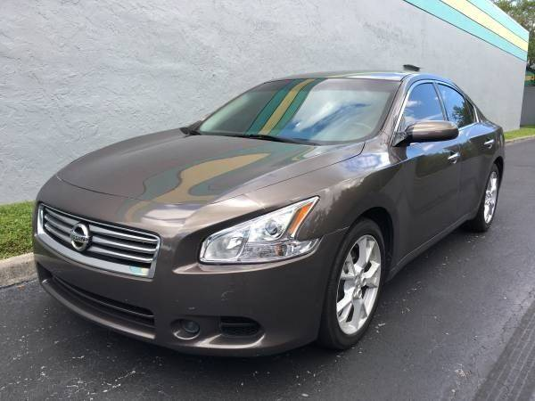 2012 nissan maxima 3 5 s 4dr sedan in davie fl rosa 39 s auto sales. Black Bedroom Furniture Sets. Home Design Ideas