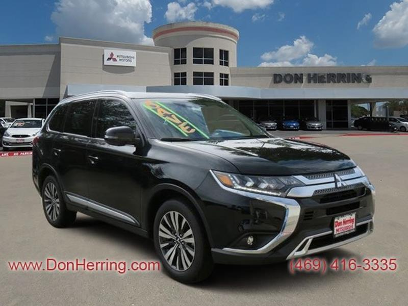 2019 Mitsubishi Outlander Awd Gt 4dr Suv In Plano Tx Don Herring