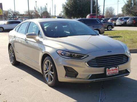 2019 Ford Fusion SEL for sale at Don Herring Mitsubishi in Plano TX