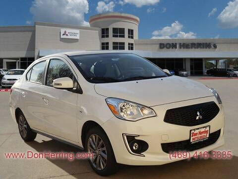 2020 Mitsubishi Mirage G4 ES for sale at Don Herring Mitsubishi in Plano TX