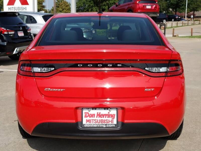 2016 Dodge Dart SXT 4dr Sedan - Plano TX