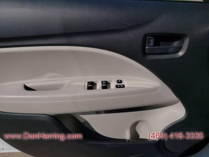 2020 Mitsubishi Mirage G4 ES - Plano TX