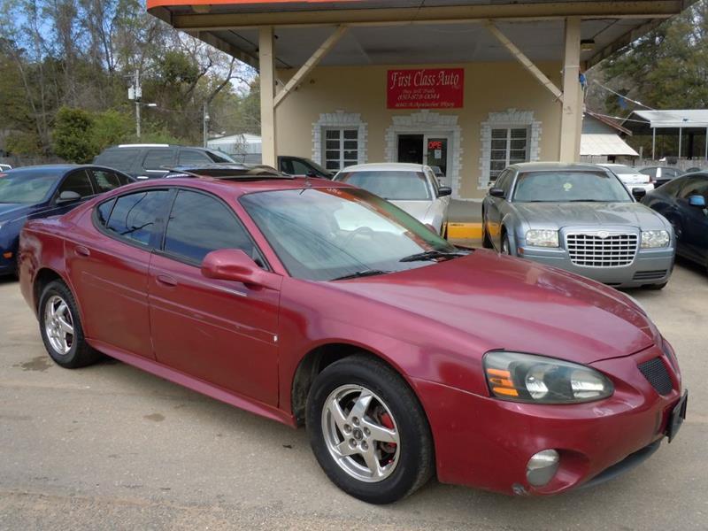 2004 Pontiac Grand Prix Gtp 4dr Supercharged Sedan In Tallahassee Fl